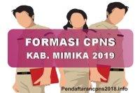 Hasil Seleksi Administrasi CPNS Kabupaten Mimika 2019