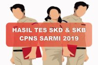 Hasil Tes SKD dan SKB CPNS Kabupaten Sarmi 2019