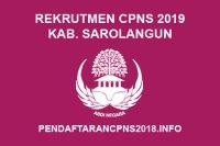 Rekrutmen CPNS Kabupaten Sarolangun Tahun 2019