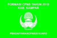 Formasi CPNS Kabupaten Kampar Tahun 2019