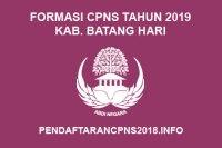 Formasi CPNS Kabupaten Batang hari