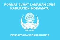 Format Surat Lamaran CPNS Kabupaten Indramayu 2019