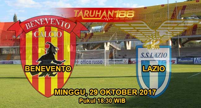 Prediksi Bola Benevento vs Lazio 29 Oktober 2017
