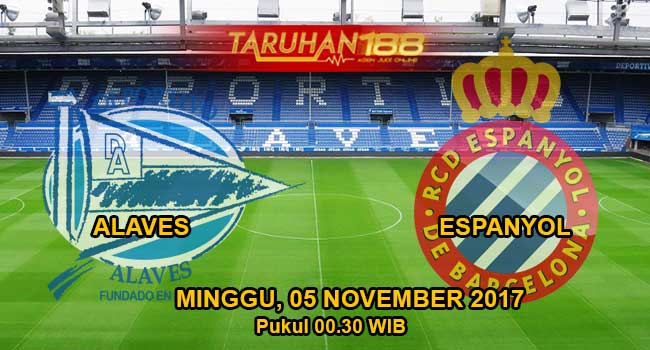 Prediksi Bola Alaves vs Espanyol 04 November 2017