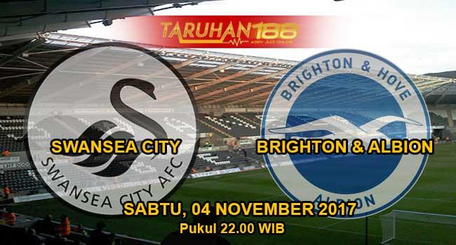 Prediksi Bola Swansea vs Brighton 04 November 2017