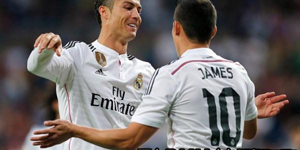 Penilaian James Terkait Komentar Ronaldo Soal Real Madrid Musim Ini