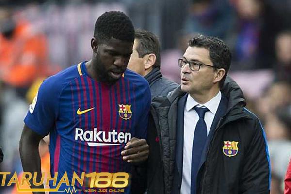 Barcelona Konfirmasikan Umtiti Akan Absen Selama Delapan Pekan