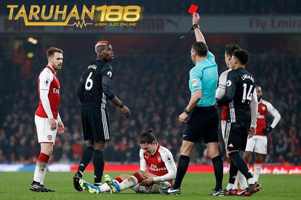 Pogba Dipastikan Absen Dalam Derby Manchester Akibat Kartu Merah