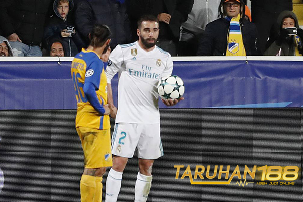 Zidane Pastikan Real Madrid Ajukan Banding Terkait Hukuman Carvajal