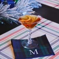 Christmas in a Glass - A Holiday Martini
