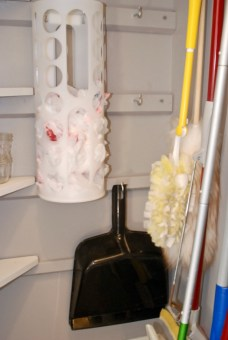 organize your utility closet