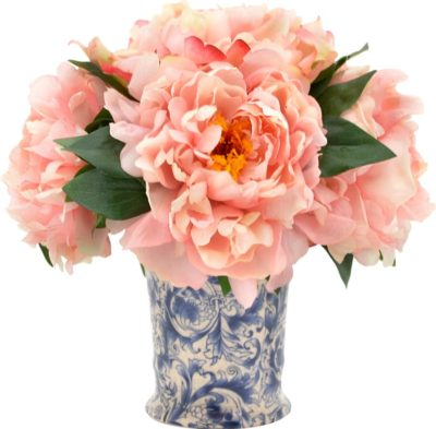 Blush+Pink+Peony+Bouquet