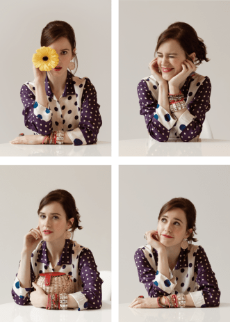 Frances Valentine Campaign with Rachel - The Charming Index