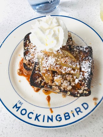 French Toast at The Mockingbird, Nashville - The Charming Index