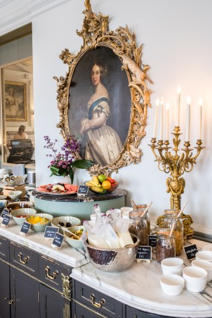Stacie Flinner's adventure to Cliveden House