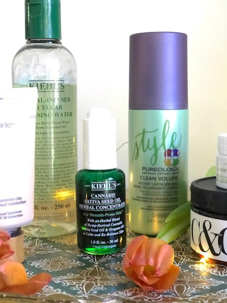 Kiehl's Sativa Seed Oil - one of my favorite fall beauty finds