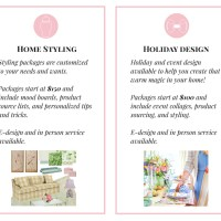 Styling & Decor Services