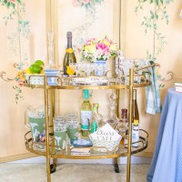 Elevated Essentials: Bar Cart Decor & Basics