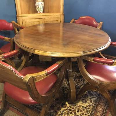 Spanish Table and 4 Chairs 7 of 8
