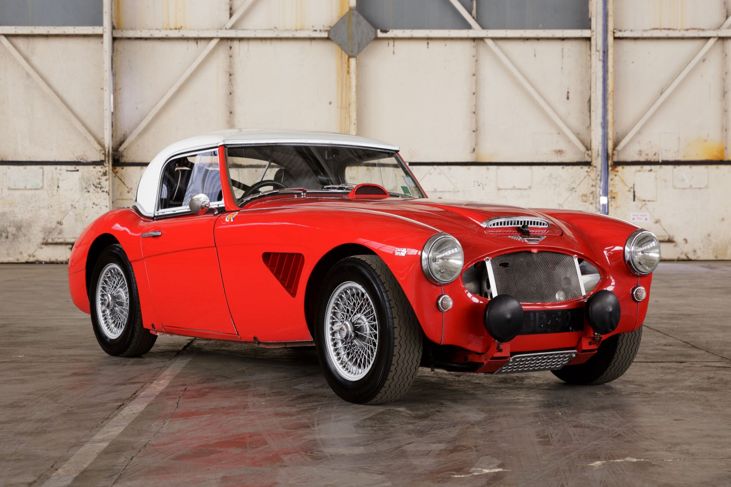 1961 Austin Healey 3000 Rally Car      Pendine Historic Cars The