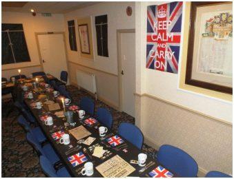 war time social board