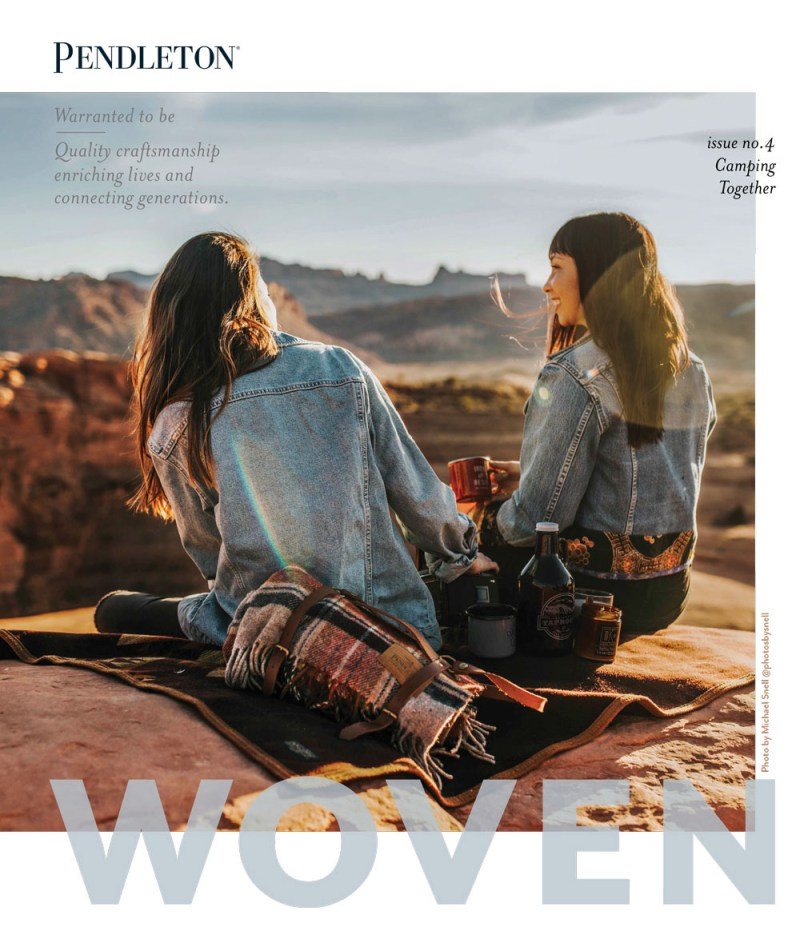 WOVEN - Issue No.4 - Camping Together Spring 2019