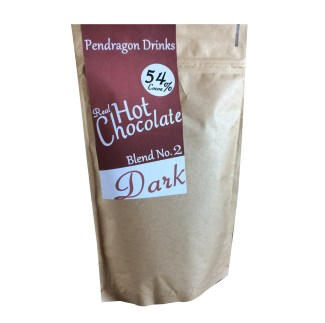dark hot chocolate flakes, grated real hot chocolate, artisan hot chocolate