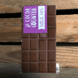 belgian milk chocolate bar 100g