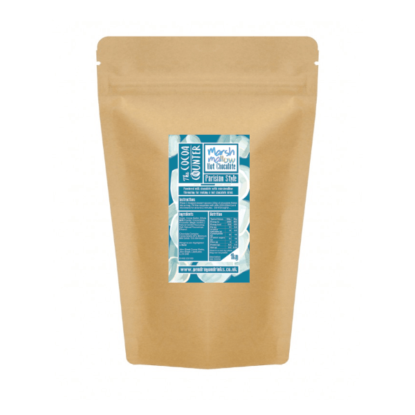 marshmallow flavoured hot chocolate bag