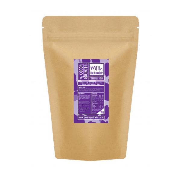 bag of milk hot chocolate flakes