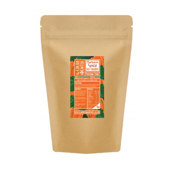 1kg bag of pumpkin spice hot chocolate