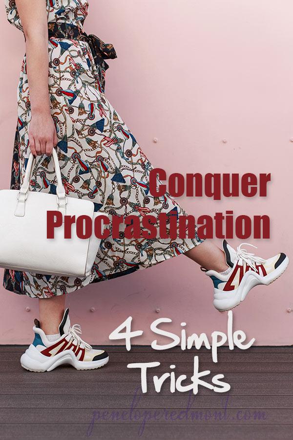 Conquer Procrastination With 4 Simple Tricks