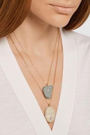 Model wearing CVC stones