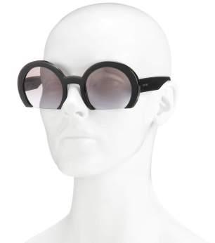 Miu Miu Round Sunglasses.