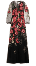 Jenny Packham - Metallic Embroidered Tulle Gown $6,150