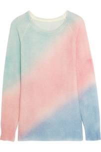 The Elder Statesman - Oversized Colour-Block Cashmere and Silk-Blend Sweater $964
