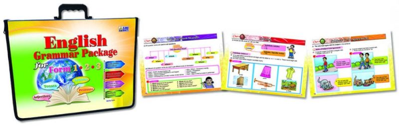 English Grammar Package for Form 1, 2 & 3