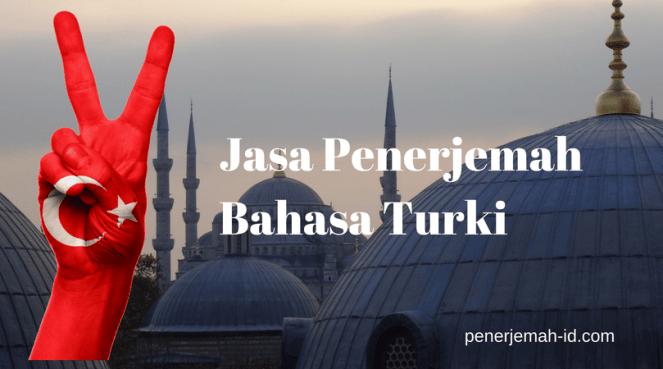 jasa penerjemah bahasa turki