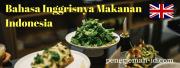 Indonesian Food in English