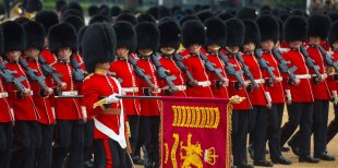 Image result for Trooping the Colour