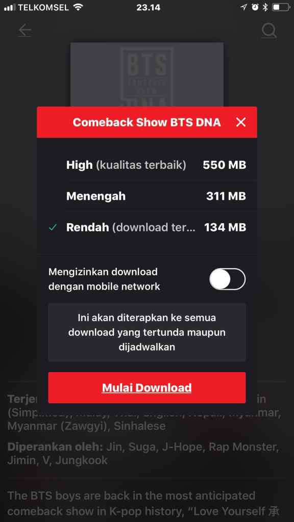 Download Film iFlix 8