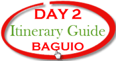 Baguio Tour - Day 2 Guide