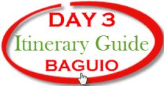 Baguio Tour - Day 3