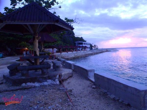 Salagddong Beach Resort Sunrise Scene