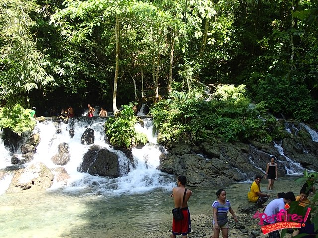 Top Falls in Kawasan