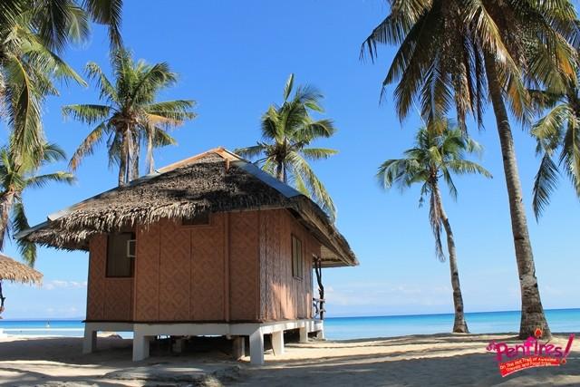 beach cottage nipa hut