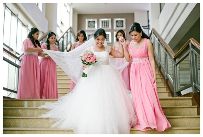 Made In Divisoria My Wedding Gown And Entourage Dresses One Happy