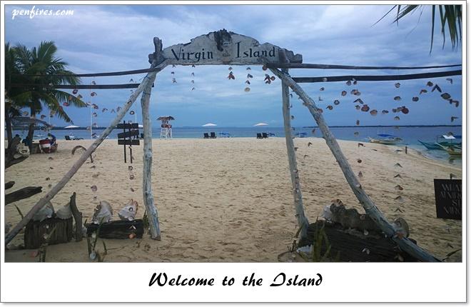Virgin Island in Bantayan Cebu
