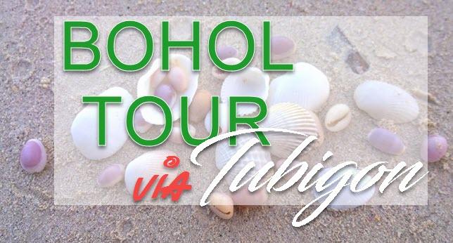 Bohol Tour via Tubigon