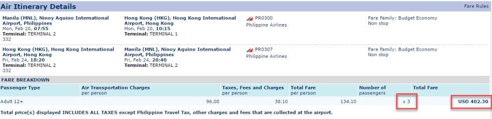 Philippine Airlines Round Trip Promo
